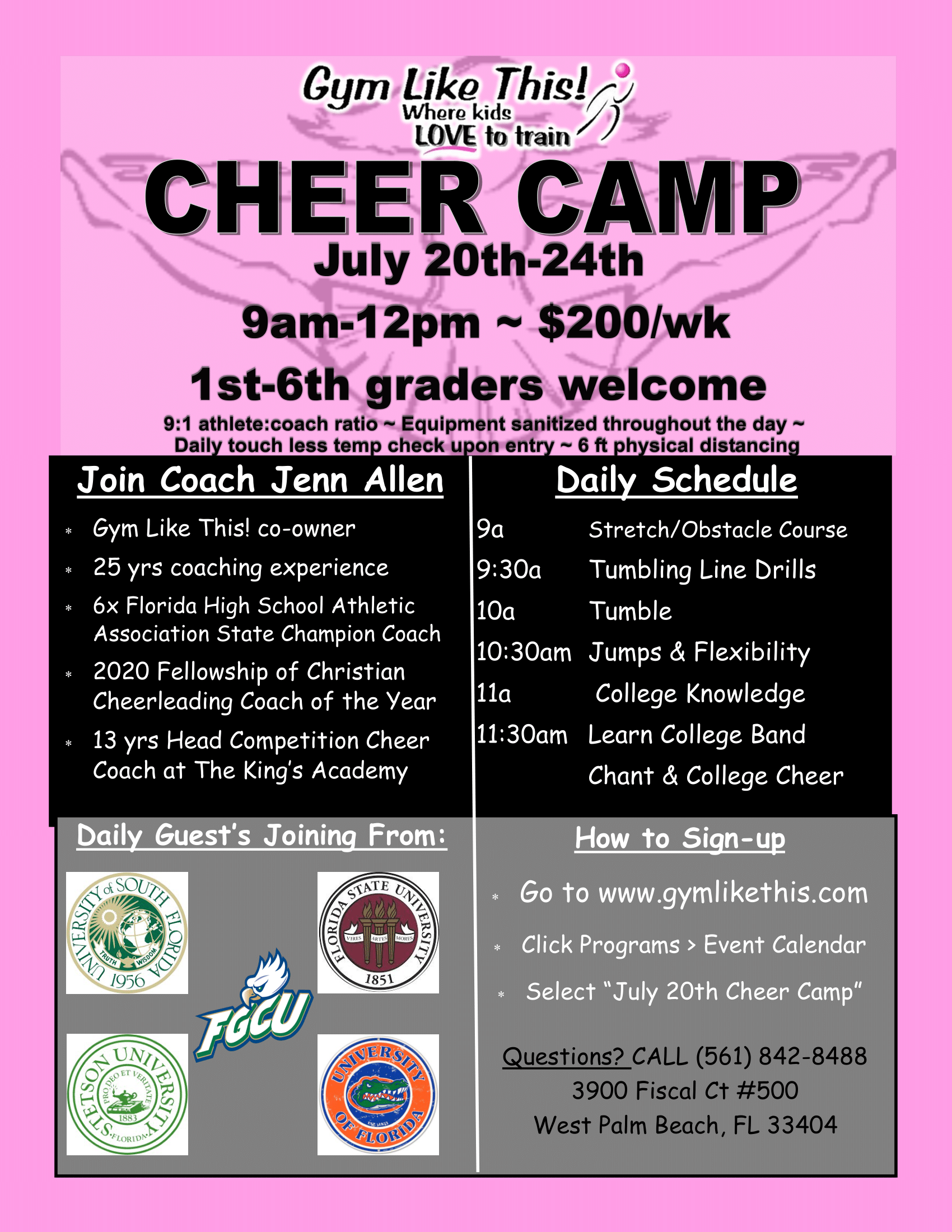 Cheer Camp Flyer July 20 2020-1